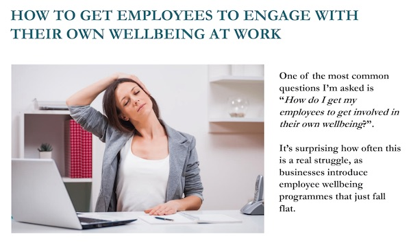how to get employees to engage with their own employee at work